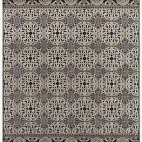 Rugs - Saphire Rug - Mig & Tig - dark, chocolate, brown, silver, Turkish, rug, area,