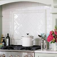 BHG - kitchens - herringbone tiles, herringbone backsplash, subway tiles, subway tile backsplash, wood kitchen hood, mint green kitchen, mint green, shaker cabinets, mint shaker cabinets, mint green shaker cabinets, farmhouse sink, apron sink, gooseneck faucet, carrara marble, carrara marble countertops, subway tile patterns, subway tile backsplash, white subway tile, subway tile kitchen, white subway tile backsplash, white subway tile kitchen, herringbone subway tile backsplash, white herringbone subway tile, herringbone subway tile kitchen, white subway tile backsplash, white subway tile kitchen, tile herringbone pattern, mint green cabinets, mint green kitchen cabinets, mint green kitchen, herringbone tile backsplash, subway tile herringbone pattern,