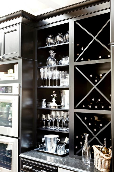 ebony kitchen cabinets contemporary kitchen