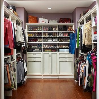 Walk In Closet Shelves, Contemporary, closet, ClosetMaid