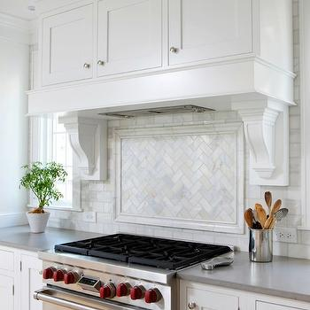 Bianco Calcutta Gold Marble, Contemporary, kitchen, Benjamin Moore Paper White, Normandy Remodeling