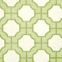 Wallpaper - Imperial Gates Key Lime - Phillip Jeffries - green, key, lime, ivory, wallpaper, geometric,