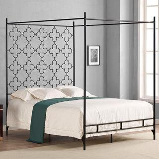 how to create a four poster bed effect