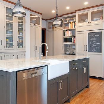 Two Tone Kitchen Cabinets Vintage Kitchen Jillian Harris