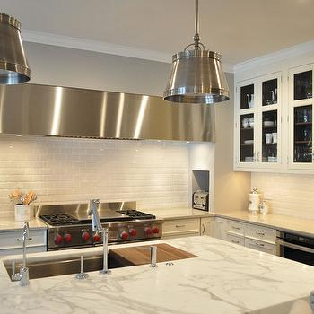 Statuario Marble, Transitional, kitchen, KItchen Lab