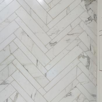 Herringbone Tile, Modern, bathroom, Annie Lowengart Design