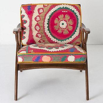 Inge Chair, Vintage Suzani, Anthropologie.com