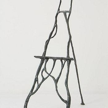 Decor/Accessories - Patina Flourish Easel - Anthropologie.com - sculpture, easel, iron, branches,