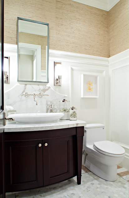 Espresso cabinets contemporary bathroom elizabeth for Espresso bathroom ideas