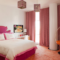 Hot Pink Headboards - Eclectic - girl's room - MMR Interiors