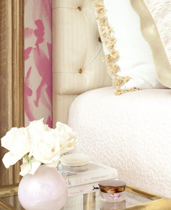 pink and gold bedroom regency bedroom