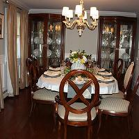 dining rooms - Benjamin Moore - custom color - dining, room,  dining room after photo