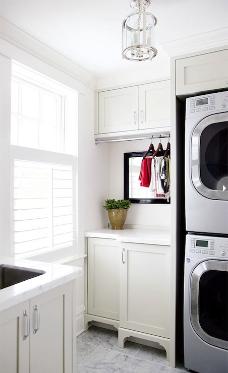 Laundry Room Cabinet Ideas - Contemporary - laundry room - Style at ...