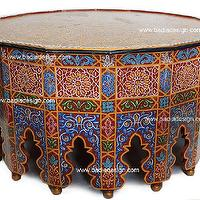 Morrocan table - living rooms - living room, table,  Living room table, morrocan