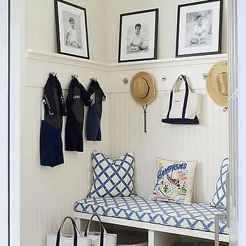 Mudroom Design, Cottage, laundry room, Meg Braff Interiors