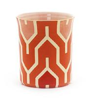 Decor/Accessories - Jill Rosenwald Studio - Plimpton Bucket - bucket, retro, geometric, orange, vase,