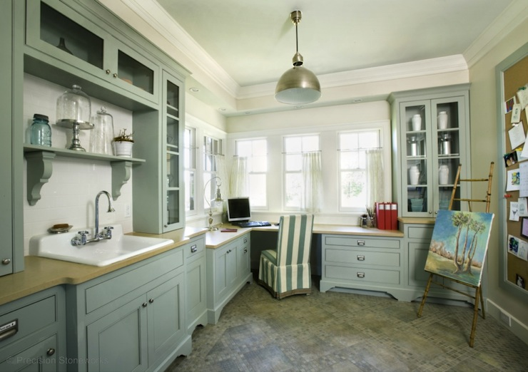 Laundry room office country laundry room precision for Utility room office