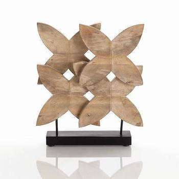 ARTERIORS Home Ella Carved Wood Sculpture, Wayfair
