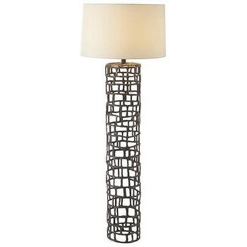 Lighting - ARTERIORS Home Hansel Natural Iron Floor Lamp | Wayfair - iron, floor, lamp, contemporary, modern,