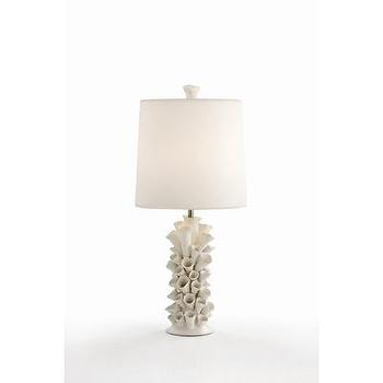 Lighting - ARTERIORS Home Cassidy Satin White Porcelain Lamp | Wayfair - satin, white, porcelain, lamp,