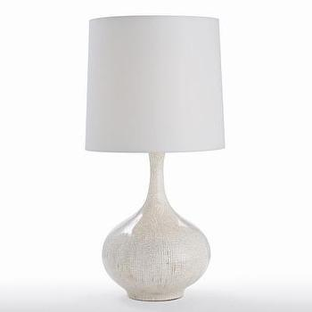 Lighting - ARTERIORS Home Feye Ivory Crackle Porcelain Lamp | Wayfair - crackle, porcelain, lamp, ivory,