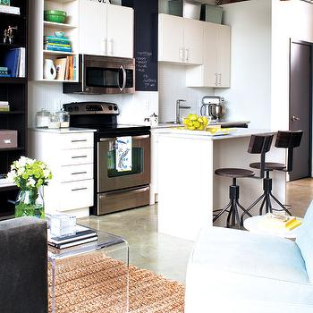 Loft KItchen, Contemporary, kitchen, Style at Home
