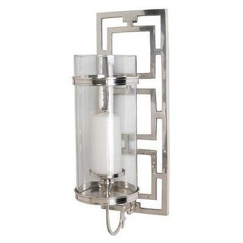 Decor/Accessories - ARTERIORS Home Wilson Hurricane Sconce | Wayfair - hurricane, sconce, polished, nickel, chain,