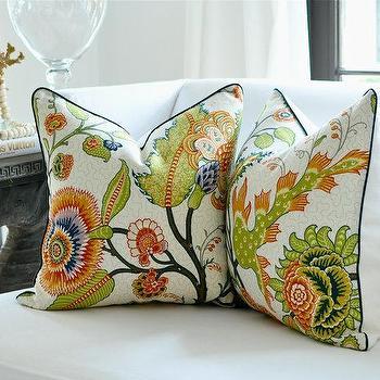 Schumacher SINHALA pillow cover by woodyliana