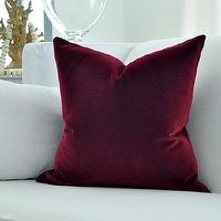Pillows - Belgian Velvet pillow cover by woodyliana I Etsy - belgian, velvet, pillow, berry,