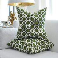 Pillows - KEENLAND pillow cover by woodyliana I Etsy - dark, green, chain, link, pillow,