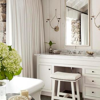 Cabin Bathroom Design, Country, bathroom, Atlanta Homes & Lifestyles