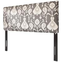 Beds/Headboards - Ikat Headboard - Grey : Target - gray, ikat, upholstered, headboard,