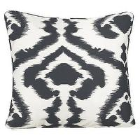 Pillows - Sure Fit Ikat Pillow Covers : Target - gray, white, pillow,