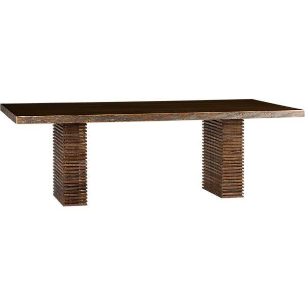 Dining Table Furniture Crate Barrel Paloma Dining Table