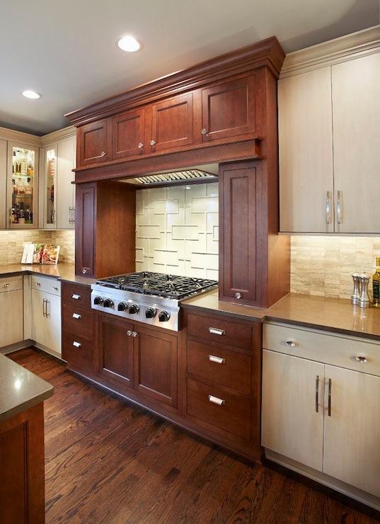 Cherry Kitchen Cabinets  Transitional  kitchen  Kristin Petro