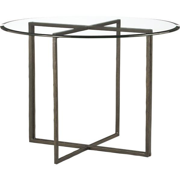 Everitt 42 Round Top Dining Table I Crate And Barrel