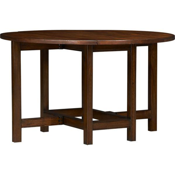 Arlington Drop Leaf Dining Table Crate And Barrel