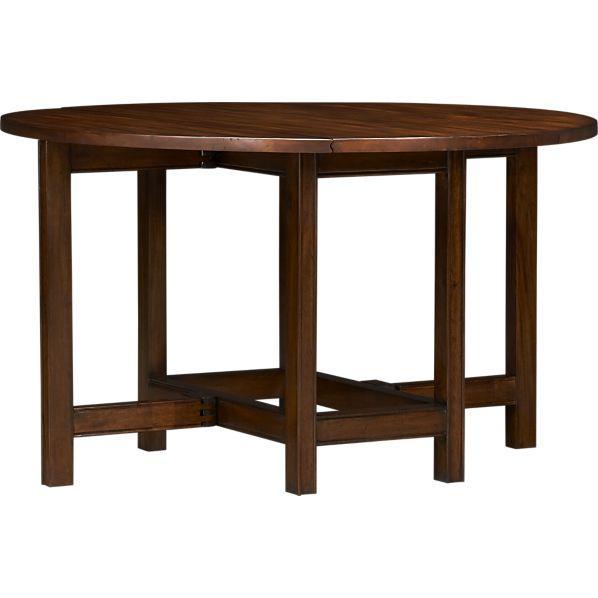 arlington drop leaf dining table crate and barrel. Black Bedroom Furniture Sets. Home Design Ideas