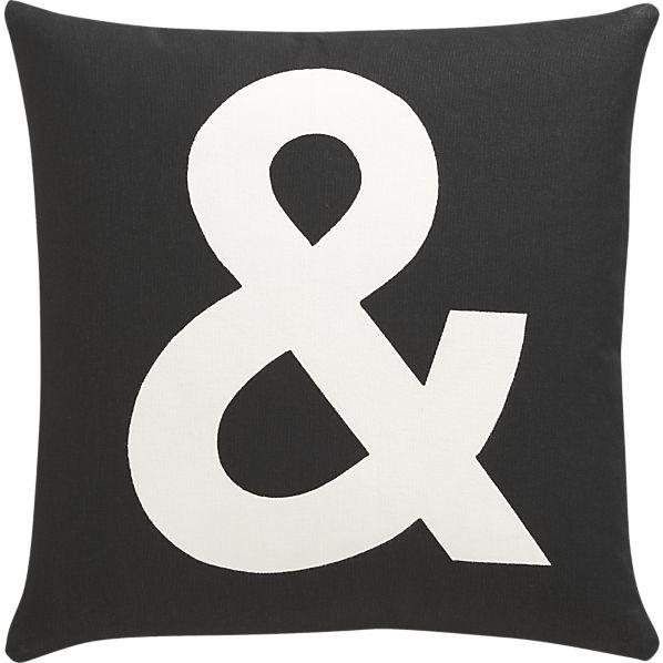 And Pillow I Crate and Barrel