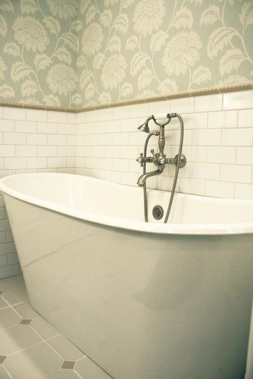 subway tiles backsplash country bathroom svz