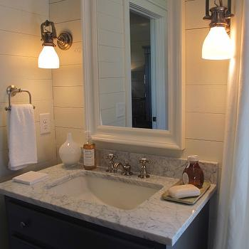 Coastal Bathroom, Cottage, bathroom, Sherry Hart Designs