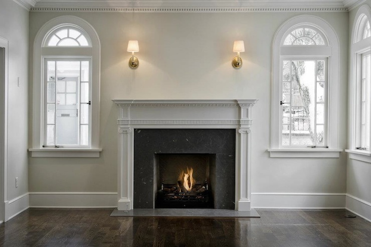 Fireplace Millwork Traditional Living Room Cameo Homes