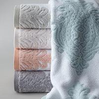 Decor/Accessories - Roma Bath Towels -  Neiman Marcus - Turkish bath towels, medallion bath towels, Turkish cotton bath towels, pink Turkish bath towels, blue Turkish bath towels, gray Turkish bath towels, lilac Turkish bath towels,