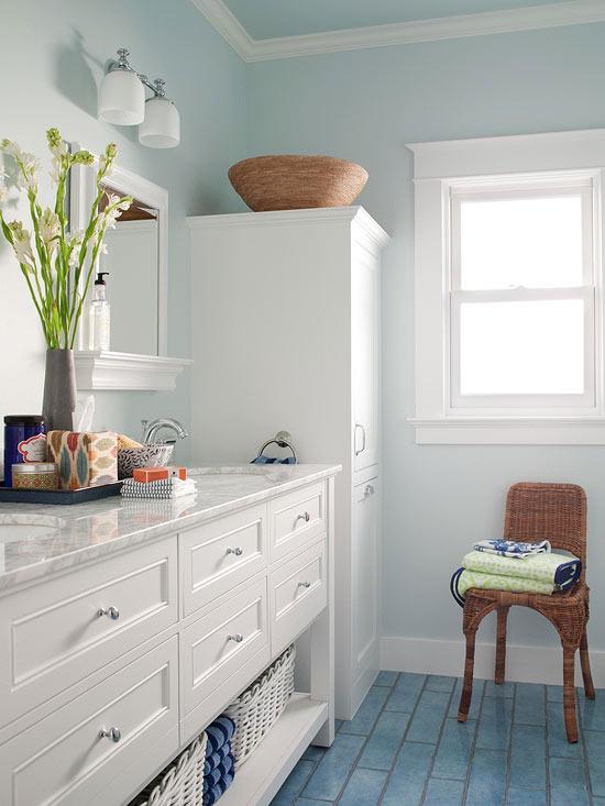Blue Bathroom Design Ideas  Better Homes amp Gardens