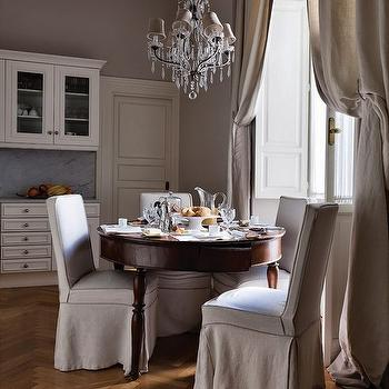 Herringbone Wood Floor, French, dining room, Stefania Di Girolamo