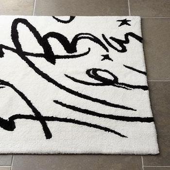 Calligraphy Bath Rug, Neiman Marcus