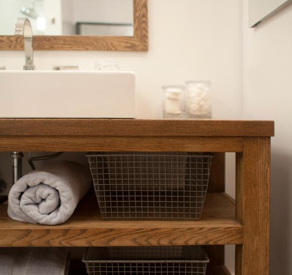 Model Rustic Chic 30quot Vanity  Weathered Oak  Modern  Bathroom Vanities