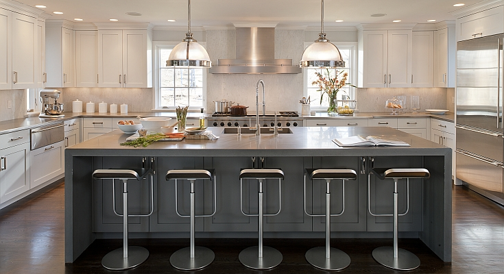 U Shaped Kitchen Contemporary Kitchens By Deane