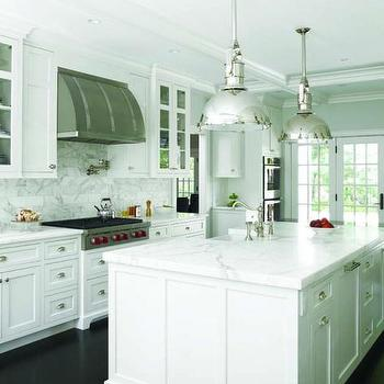 Stainless Steel Kitchen Hood, Transitional, kitchen, At Home in Fairfield County