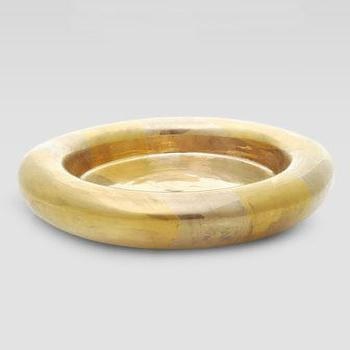 Decor/Accessories - Kelly Wearstler Golden Ceramic Bowl - Neiman Marcus - gold ceramic bowl, modern gold bowl, gold bowl,